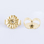 Solid 14K Gold Standard Earring Backs