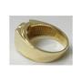 Gregory Round 2.0 Carat Bezel Set Men's Cubic Zirconia Ring