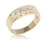 Howell Men's Princess Cut Band Ring, 1.85 Ct TW