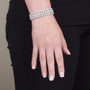 Aurora Cubic Zirconia Art Deco Bracelet
