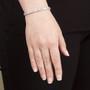 Evangeline Emerald Cuts with Rounds CZ Bracelet