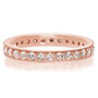 Vicky Bead Set Milgrain Cubic Zirconia Eternity Band