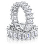 Nora 0.5 Carat Each Shared Prong Eternity Band