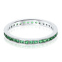 Kylie Channel Set Round Colors Eternity Stacking Band