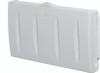 World Dryer DryBaby ABC-300H Polyethylene White Surface Mount Baby Changing Station