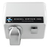 Excel H76-W Push Button White Hair Dryer