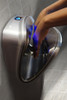 World Dryer VMax in use with the blue LED sensor
