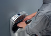 The VMax V2 is easy to use drying your hands