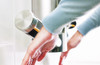 Drying hands is easy with the Airblade 9kJ from Dyson