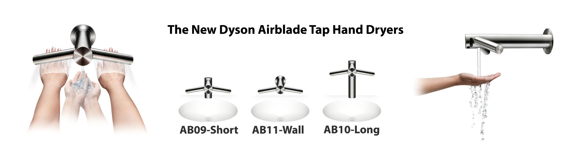 Dyson Airblade Tap Hand Dryers