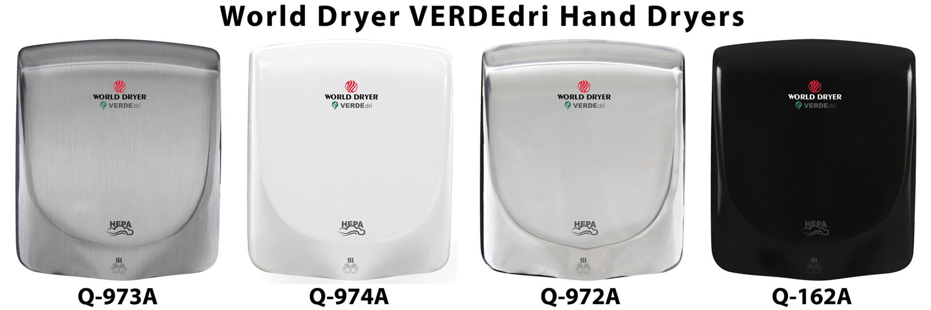 World Dryer Verdedri Hand Dryers