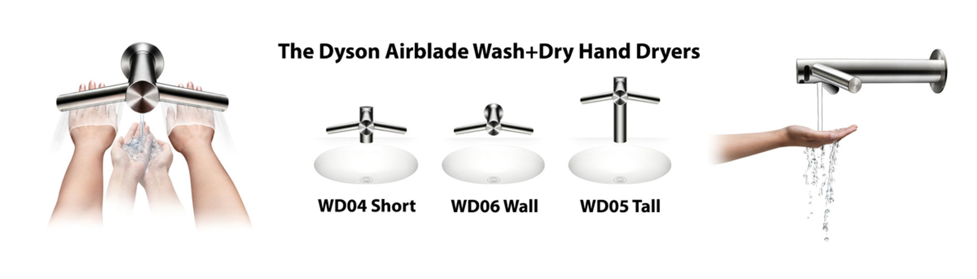 Dyson Airblade Wash+Dry Hand Dryers