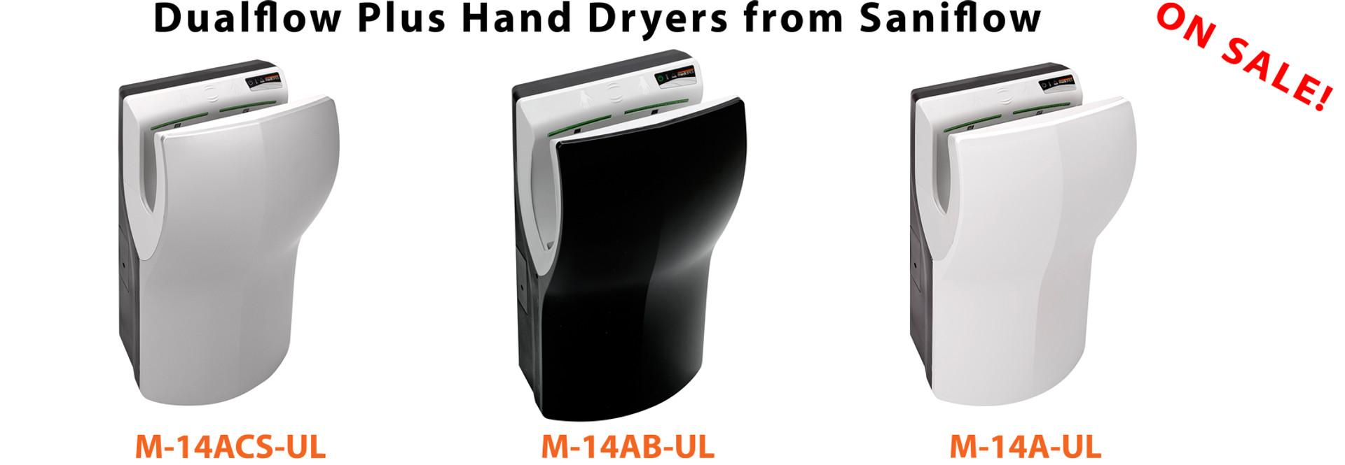 Dualflow Plus Hand Dryers on Sale Now