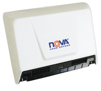 World Dryer Nova 2 Aluminum White commercial hand dryer