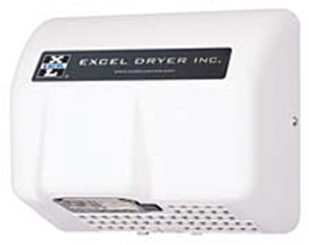 Excel Dryer Lexan HO-IL Automatic White 120 Volt Hand Dryer