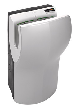 Dualflow Plus M14ACS-UL hand dryer in Satin by Saniflow Corp.