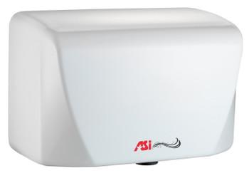 Turbo-Dri Junior 0198 hand dryer in white by ASI