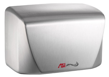 Turbo-Dri Junior 0198-93 hand dryer in brushed/satin stainless steel by ASI