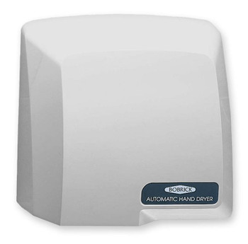 Bobrick B-710 CompacDryer 115v Hand Dryer has a grey ABS cover.