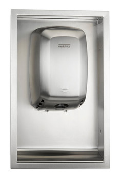 Saniflow ADA KT009ACS (KT0009CS) Kit for Recessed Machflow Hand Dryers