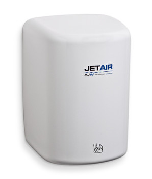 AJW U1512EA JetAir White High Speed Hand Dryer - 120v