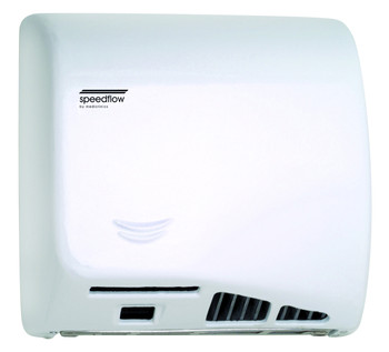 Cast Iron Speedflow Plus M17AF-UL Automatic White Hand Dryer from Saniflow