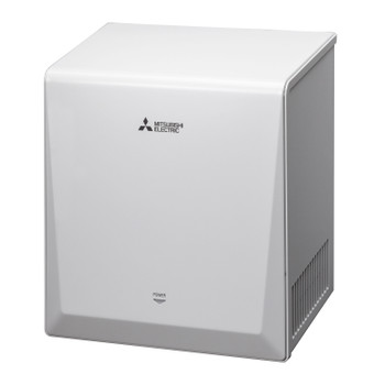 The New Mitsubishi Smart Jet Towel White JT-SIAP-W-NA High Velocity Hand Dryer.