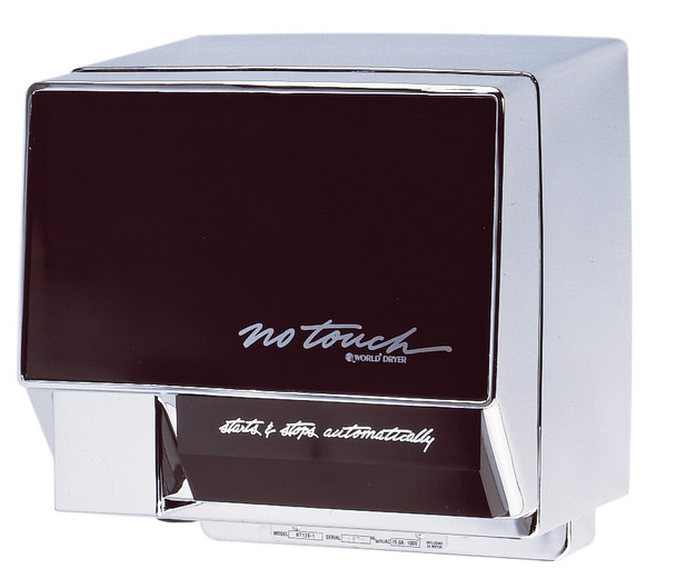 World Dryer NoTouch Aluminum Automatic commercial hand dryer