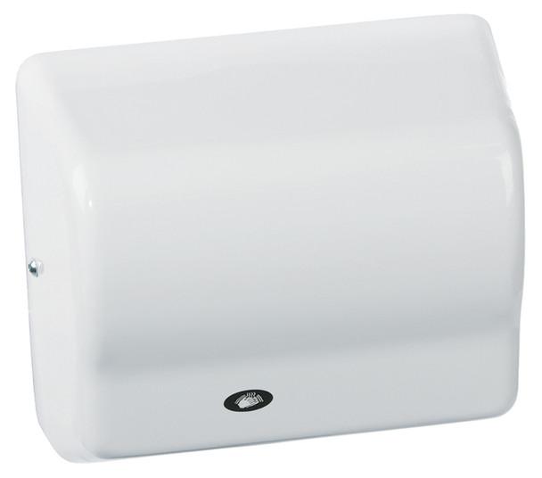 American Dryer Global GX1-M White Steel washroom hand dryer