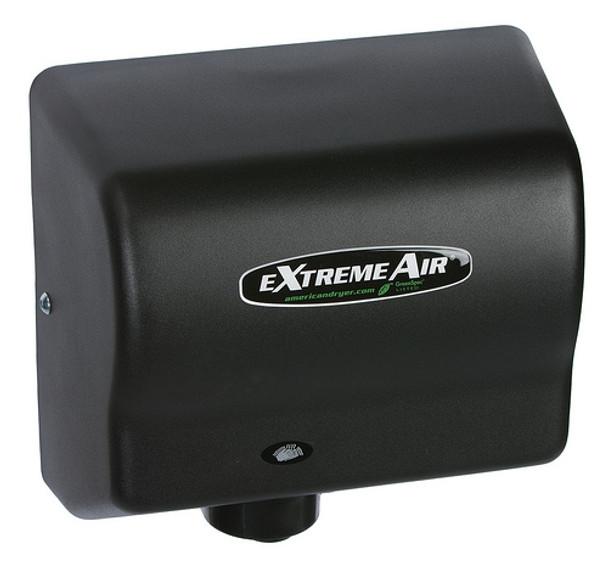 American Dryer eXtremeAir GXT9-BG Steel Black Graphite restroom hand dryer