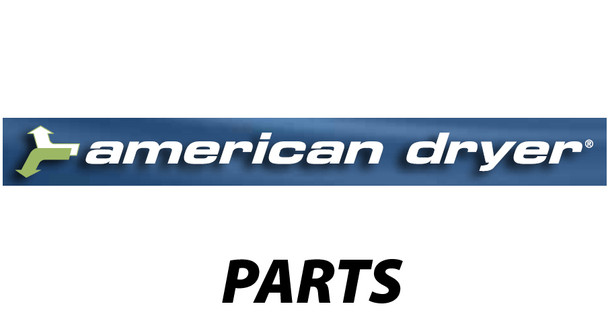 "American Dryer - Parts - DR228H - Blower Wheel 1/4"" hub"