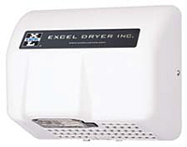 Excel Dryer Lexan HO-IL Automatic White 120 Volt Hand Dryer