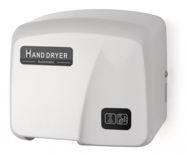 Palmer Fixture Economy Series HD903 White ABS Touchless Hand Dryer - HD0903-17 - Surface Mounted, 110/120V - a great Automatic Washroom Hand Dryer!