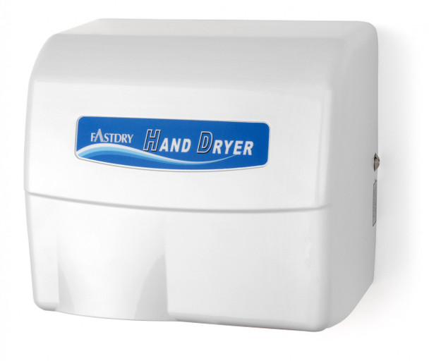 Palmer Fixture Economy Series HD907 White Aluminum Touchless Hand Dryer - HD0907-17 - Surface Mounted, 110/120V - a great Automatic Washroom Hand Dryer!