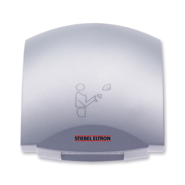 Stiebel Eltron Galaxy M Hand Dryer Silver Metallic Aluminum - Automatic Touchless Surface Mounted Ultra Quiet Design