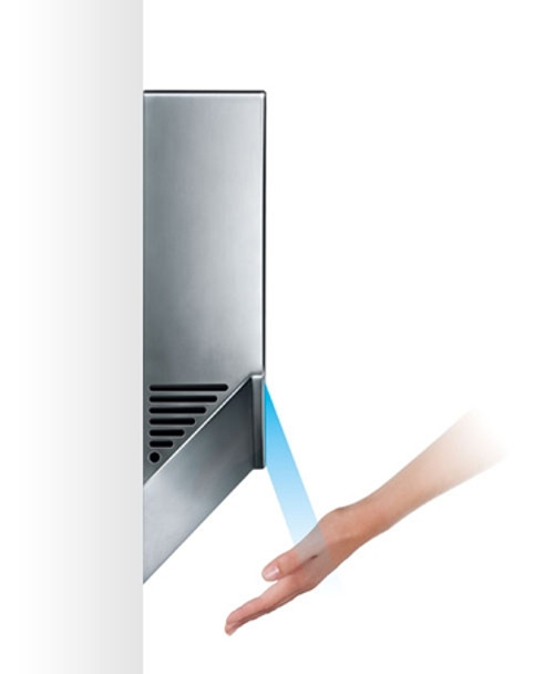 Side profile of the HU02 Airblade V hand dryer
