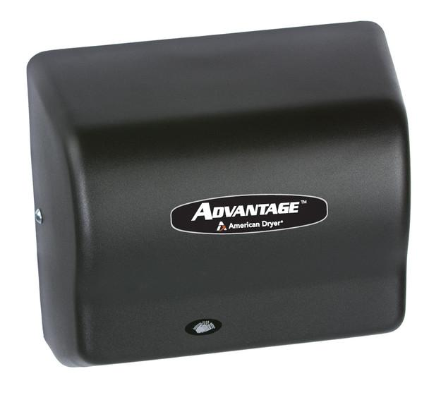 AD90-BG Advantage hand dryer by American Dryer in Steel Black Graphite