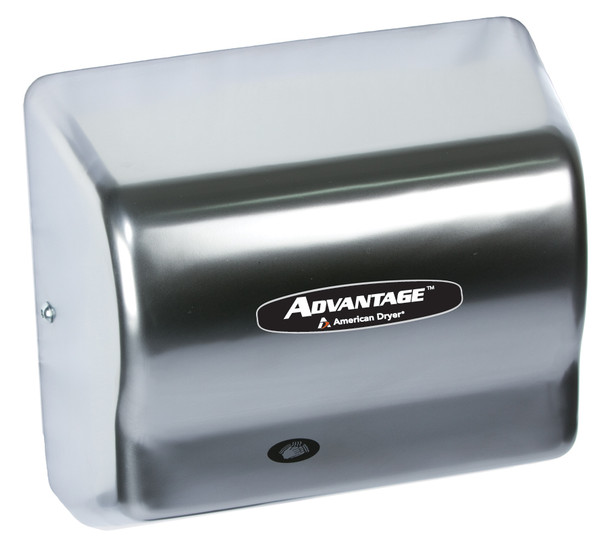AD90-SS brushed stainless steel Advantage series by American Hand Dryer
