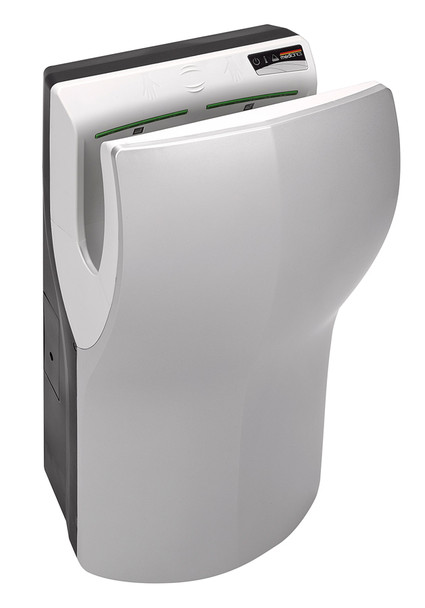 Dualflow Plus M14ACS-UL hand dryer in Satin by Saniflow Corp.