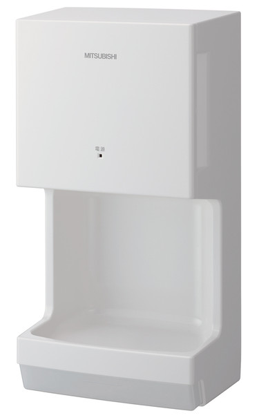 Mitsubishi Jet Towel Mini JT-MC106G-W-NA White Hand Dryer
