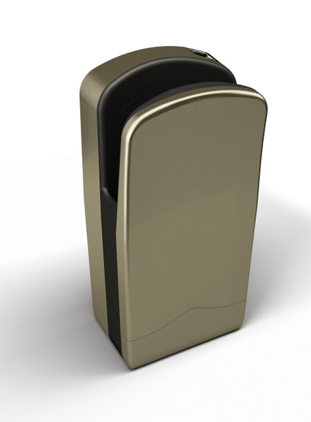 Champagne color Veltia hand dryer