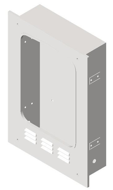 Wall box for the 0119 ASI semi-recess kit for the Turbo-Dri 0197 high speed hand dryer