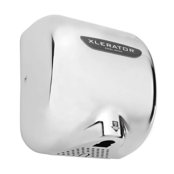 Excel Xlerator hand dryer XLC with chrome cover