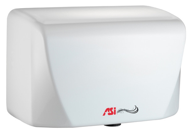 Turbo-Dri Junior 0198 hand dryer in white by ASI