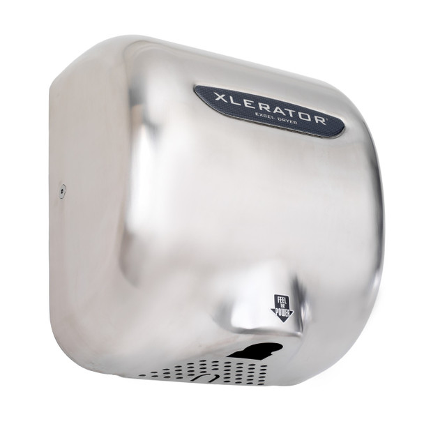 Excel Xlerator XL-SB hand dryer with Brushed Stainless Steel cover