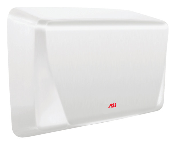 Turbo ADA 0199 hand dryer in white by ASI comes in 110-120v, 220-240v, and 277v.