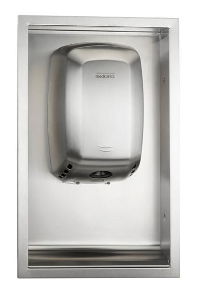 Saniflow ADA KT009ACS (KT0009CS) Kit for Recessed Machflow Hand Dryers