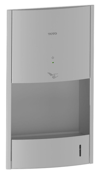 Toto HDR111#SS Clean Dry High Speed Concealed Hand Dryer