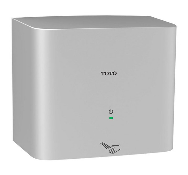 Toto HDR130#SV Clean Dry High Speed Hand Dryer