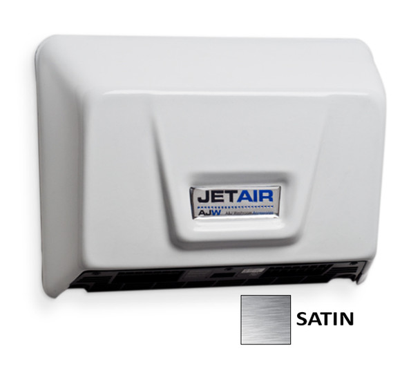 AJW U1511EA-SF Jet Air Hand Dryer Satin Stainless Steel ADA Universal Voltage Hand Dryer